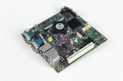 Carte mère industrielle, ATOM N450 1.6G MINI ITX w/VGA,LVDS,2GbE,6COM