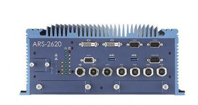 Train PC fanless EN50155 I7-6600U 6xEthernet, 8Gb, 32Gb, 48Vdc
