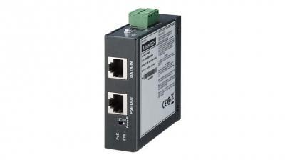 EKI-2701MPI-5G Injecteur PoE  802.3bt-5G Gigabit, 90W, Rail Din / Mural et durci