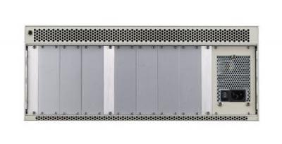Châssis pour cartes CompactPCI, 3U system of MIC-3022 w/ CPCI PSU, Plus IO BP