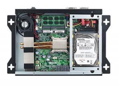 AIMB-B12010-00Y1E Châssis industriel ultra fin pour carte mère Mini ITX, AIMB-B12010 system with AIMB-201DS w/o Adapter