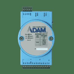 ADAM-6217 8 channels entrée analogique 2 ports ethernet