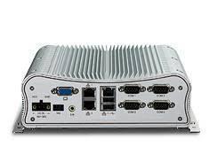 PC Fanless Intel® Atom DualCore D525 1.8GHz (fanless pc) et 3 ports Ethernet 10/100/1000