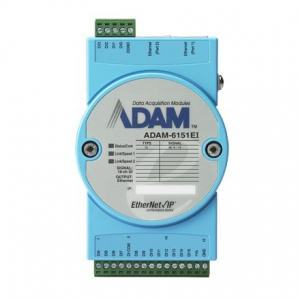 Module ADAM Entrée/Sortie sur bus de terrain, 16-ch Isolated DI EtherNet/Ip