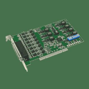 Carte PCI de communication série, 8-ports RS-232/422/485 protection contre les surtensions et isolée 3000V