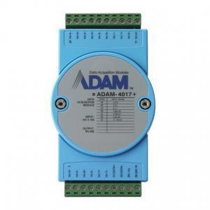 Module ADAM 8 entrées analogiques paramétrables voie par voie compatible Modbus