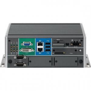 PC fanless avec accès par devant Intel® Atom ™ Quad Core E3845 - avec 2 slots d'extension mPCIe