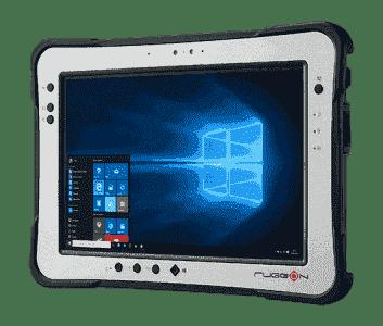 """Tablette durcie étanche 10"""" avec Intel ATOM"""