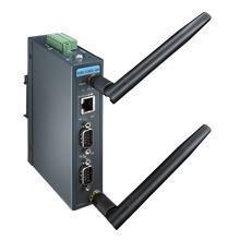 Passerelle Modbus 2 ports série vers WiFi a/b/g/n et ethernet RJ45