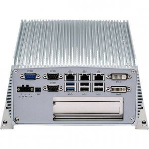 PC Fanless industriel Intel® Core™ i5/i3 4ème génération avec 1 slot PCI et 1 slot PCIeX4
