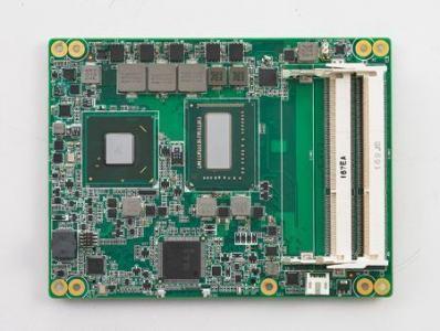 Carte industrielle COM Express Basic pour informatique embarquée, i7-3612QE 2.1G 35W 4C COMe Basic non-ECC