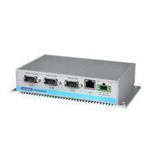PC industriel fanless à processeur GX3 LX800-500, 256MB DDRRAM, 4xCOM, 2xUSB