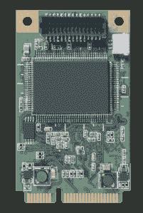 Carte industrielle d'acquisition vidéo, mPCIe 1ch VGA/HDMI SW Video Card