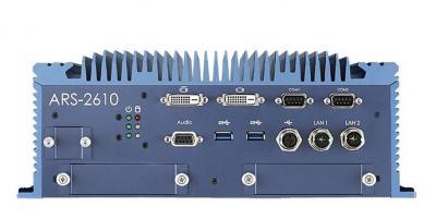 Train PC fanless EN50155 I7-6600U, RAM 8Gb, mSATA 32Gb alim 24Vdc