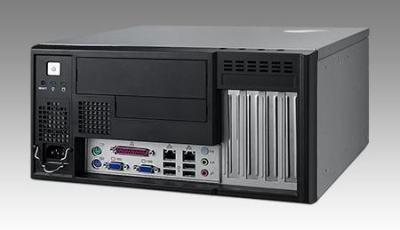 Châssis pour PC industriel, IPC-5120-00CE + 350W PSU: PS8-350FATX-XE