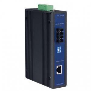 Switch industriel, Ethernet to Single mode fiber media converter