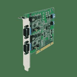 Carte PCI de communication série, 2 ports RS232/422/485 avec protection surtension