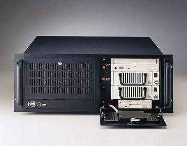 """ACP-4000MB-50CE Châssis silencieux 4U 500W pour PC rack 19"""" à carte mère ATX/MATX"""