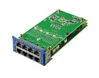Carte Mezzanine réseau, 8 ports GbE module by RJ45 w/ALBP Latch