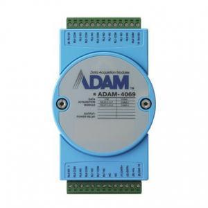 ADAM-4069-AE Module ADAM sur port série RS485, 8-Ch Power Relay Output Module w/ Modbus
