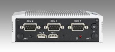 ARK-1122C-S6A1E PC industriel fanless, Intel Atom N2600 1.6GHz w/4COM+4USB+LAN
