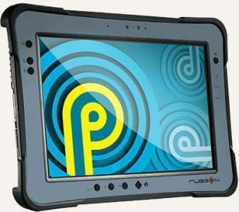 "Tablette durcie 10"" Android 9 IP65 et 4G (32Go / 3Go Ram)"