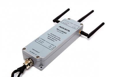 AP, bridge, répéteur WiFi 802.11n (3T3R), version durcie pour applications mobiles (MIL-STD-810F, UTAC E2)