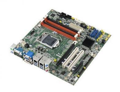AIMB-584WG2-00A1E Carte mère industrielle, LGA1150 mATX VGA DVI DP SATA 3 C226