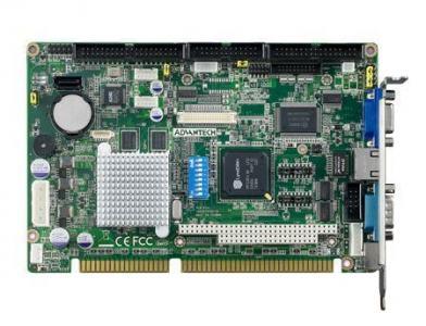 Carte mère industrielle bus ISA, PCA-6743F-Q0A2E + LVDS function
