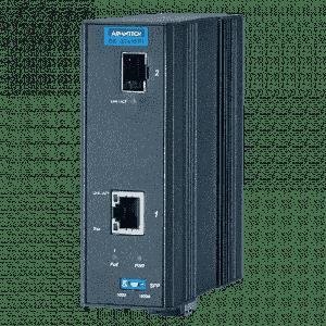 Convertisseur de média SFP fibre optique 2xRJ45 POE 30W