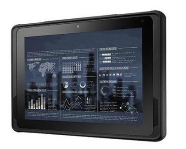 "Tablette durcie 10"" Win10 IoT WIFI BT NFC 4GB RAM 64GB SSD"