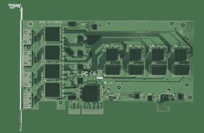 Carte industrielle d'acquisition vidéo, 4ch HDMI PCIe SW Video Card