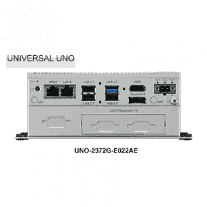 PC fanless modulaire QuadCore J1900 4xCOM 4xUSB rail DIN, VESA et extension iDoor