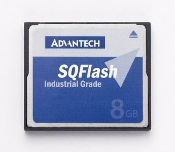 Compact flash industrielle, SQF 256M SLC CF 1CH P8 DMA (-40~85°)