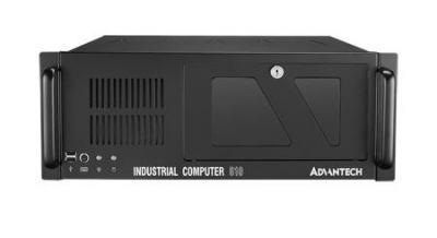 """Châssis industriel PC rack 19"""" couleur noire pour carte mère ATX/MATX"""