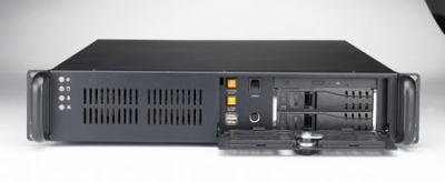 """ACP-2320MB-35CE Châssis 2U pour PC rack 19"""", avec 2 baies SAS/SATA et alimentation FATX 350W"""