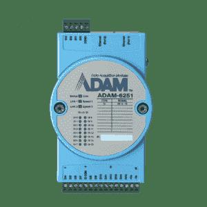 Module ADAM 16 canaux isolés entrée digital et Modbus TCP