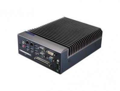 PC industriel fanless, MIC-7500 Fanless system,G3900E 2.4GHz, DDR4 4GB fanless