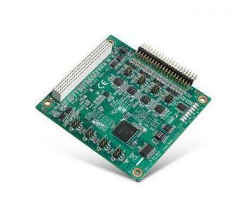 Carte industrielle PC104, PCI-104, 4-port RS-232/422/485 Module