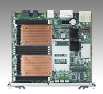 Cartes pour PC industriel CompactPCI, MIC-5332 RJ45 version with E5-2658 CPUs