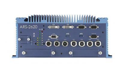 Train PC fanless EN50155 I7-6600U 6xEthernet, 8Gb, 32Gb, 72Vdc