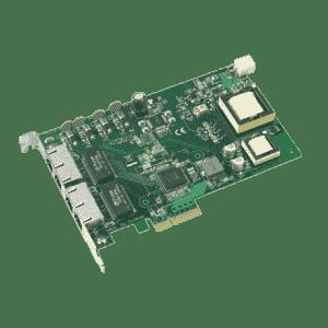 Carte ethernet Gigabit, 4-port PCI express GbE PoE card