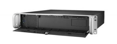 """ACP-2020MB-50RE Châssis 2U pour PC rack 19"""" profondeur 398mm seulement avec alimentation redondante 2x500W"""