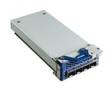 Carte Mezzanine réseau, 4-ports 10GE SFP+ NMC card w/ Intel XL710 chip