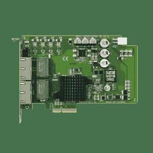 Carte ethernet Gigabit, 4-port PCI express GbE card