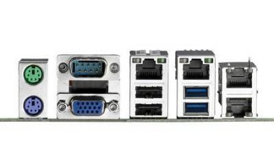 Carte mère industrielle pour serveur, LGA1155 ATX SMB with 4 USB 3.0 and Quad LAN