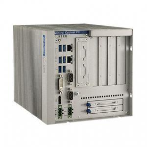 PC industriel fanless à processeur i7-6822EQ, 2.0GHz, 8GB RAM, 2xPCIex16, 2xPCI