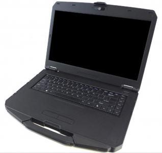 """PC Portable semi-durci 15"""" Durabook avec port série RS232 et option tactile"""