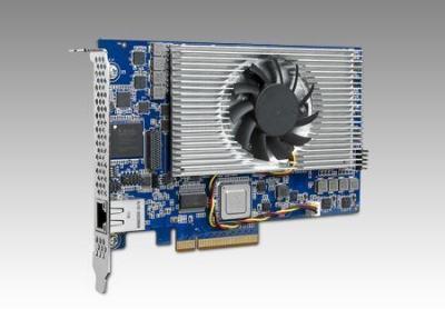 Carte industrielle d'acquisition vidéo, 4 TI C6678 1.25G with PCIe Gen2 x8 and 2GB DDR3