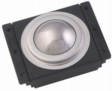 Trackball industrielle   38mm de diamètre Trackball en acier Etanchéité: IP65